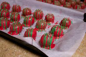 the owens family circus christmas cake balls