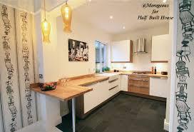 half built house exeter u2013 ikea abstrakt kitchen diner with added