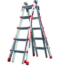 werner 26 ft aluminum telescoping multi position ladder with 300