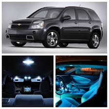 chevrolet equinox blue 11pcs white ice blue led light bulbs for 2005 2009 chevy chevrolet