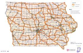 Raccoon Creek State Park Map by Iowa Trails 2000 Iowa Department Of Transportation