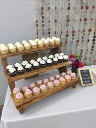 cupcake displays 77 best 攤位展示 images on petit fours dessert tables
