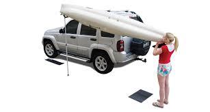 jeep kayak rack rhino rack universal side loader rusl rhino rack