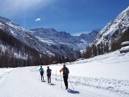 italian cross country ski short break ke adventure travel