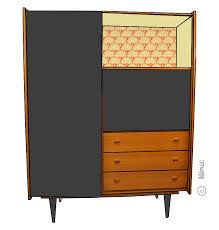 bureau dans une armoire une nouvelle armoire secrétaire vintage voici achille dans une