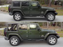 2012 jeep wrangler leveling kit teraflex leveling kit before and after