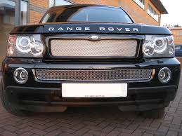 chrome bentley chrome bentley style lower mesh grille for range rover sport front