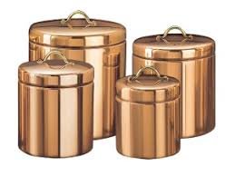 copper kitchen canister sets copper gleams on canister set and tea kettles umbrella holders