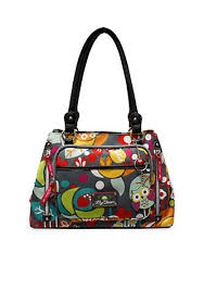lilly bloom bloom maggie compartment satchel belk