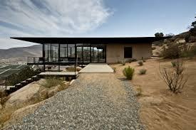 modern desert homes by erika heet modern glass concrete and