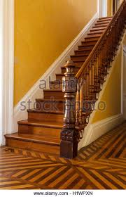 New Banister Victorian Staircase Banister Wooden Floor Stock Photos U0026 Victorian
