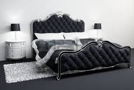 deluxe back of bed and pillows royal and luxurious bedroom stock