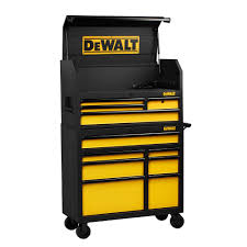 home depot tool cabinet dewalt 40 in 11 drawer rolling bottom tool chest and cabinet combo