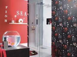 Contemporary Wallpaper For Bathrooms - 8 ideal designer wallpaper for bathrooms ewdinteriors