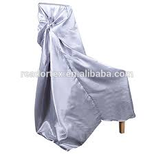 Metal Folding Chair Covers Silver Satin Chair Covers For Wedding Silver Satin Chair Covers