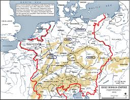 Roman Map Of The Holy Roman Empire 1618