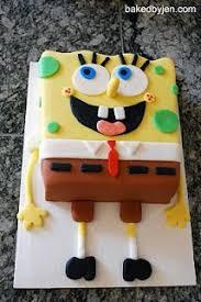 sponge bob square pants cake birthday cake boy pinterest kid