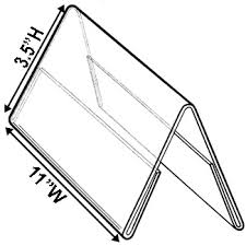 table tent sign holders table tent sign holder displays two 11 x 3 5 signs