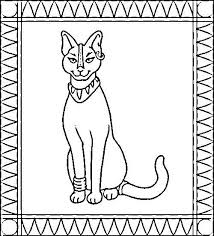 ancient egypt coloring page coloring pages egyptian cat egypt coloring pages and coloring on