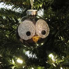 owl ornaments just crafty enough project glitter owl christmas ornament