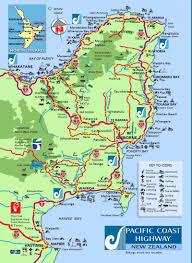 Pacific Coast Highway Map Motu Trails