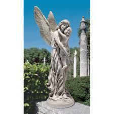 design toscano heavens guardian garden statue hayneedle