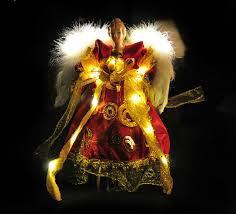 lighted angel christmas decoration free shipping red vintage lighted christmas decoration angel
