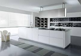 ilot cuisine blanc cuisines cuisine ilot central moderne blanc pedini dune cuisine