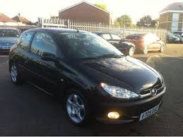 black peugeot for sale used peugeot 206 2004 petrol 2 0 gti 3dr dac cc hatchback black