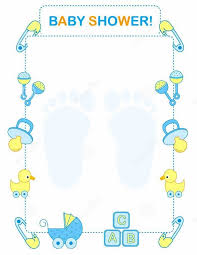 baby shower templates word