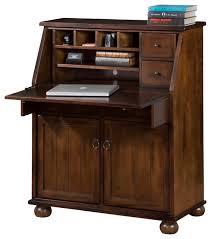 Laptop Desk Ideas Santa Fe Drop Leaf Laptop Desk Traditional Desks And Hutches