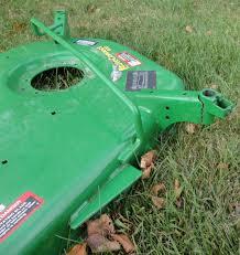 john deere lva19021 auto connect 60d mower deck with shoot 1023e