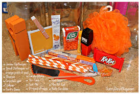 Halloween Baskets Gift Ideas Orange You Glad It U0027s Summer Gift Idea Neighbors Co Workers
