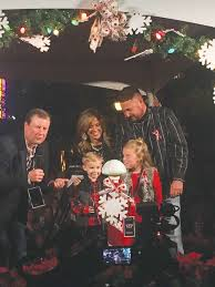 belcher family lights christmas tree on market street houston