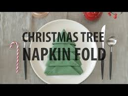christmas tree napkin fold christmas tree napkin fold christmas