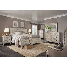 White Casual Traditional  Piece King Bedroom Set Raelynn RC - Bedroom sets at rc willey