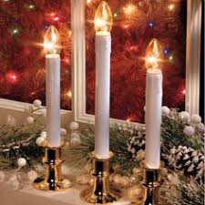 adjustable height cordless led window candles w streetside