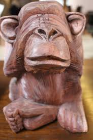 Free Wood Carving Downloads by Free Images Animal Monument Statue Monkey Material Blind