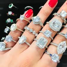gaudy engagement rings should you go ring shopping together the plunge