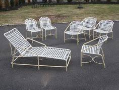 Brown Jordan Patio Set by Vintage Brown Jordan Patio Chairs Chaise Set Serving Cart Mid