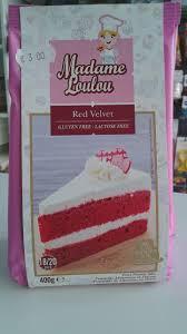 madame loulou red velvet cake powder mix u2013 gluten free u0026 lactose