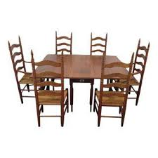 vintage u0026 used traditional dining sets chairish