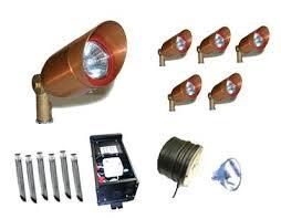 Low Voltage Landscape Lighting Transformer Landscape Lighting Kits Low Voltage U2013 Kitchenlighting Co