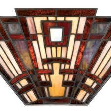 Stained Glass Wall Sconce Stained Glass Wall Sconce Two Light Wall Lighting All