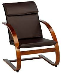 Faux Leather Armchair Uk Jysk Armchair Tune Faux Leather Brown Amazon Co Uk Kitchen U0026 Home