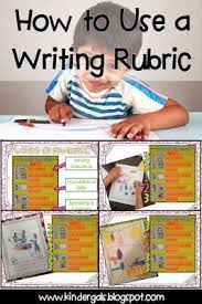 K Writing Scoring Rubric by Busy Bees