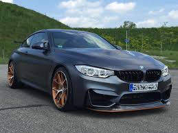 bmw m4 gts gets two tone hre wheels