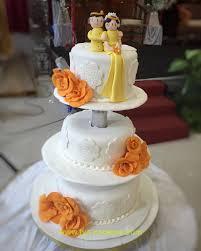 wedding cake balikpapan wedding cake batak ethnic di balikpapan fya cookies cake