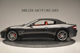 matte black maserati price 2017 maserati granturismo convertible sport stock m1636 for sale