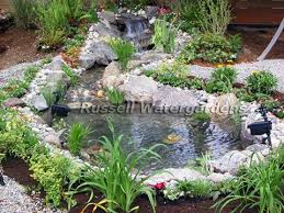 how to build a water garden pond with an easy to install pond kit